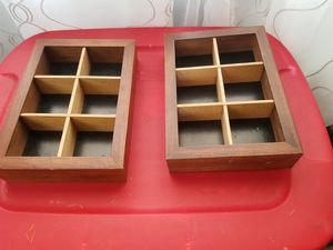 Wood box organizer for Sale in Bell, CA