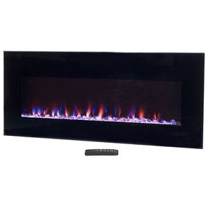 """Wall Mounted Electric Fireplace 54"""" ($150) for Sale in Alexandria, VA"""