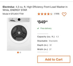 NEW ELECTROLUX WASHER FOR SALE for Sale in Savannah, GA