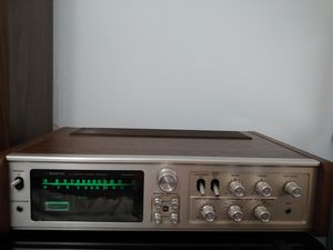 Vintage Sanyo 4 channel receiver - tested, working for Sale in Herndon, VA
