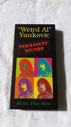 Weird Al Yankovic permanent record 4cd set for Sale in Weirsdale, FL