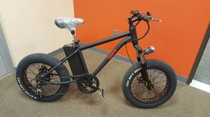 Electric fat tire bicycle for Sale in North Las Vegas, NV