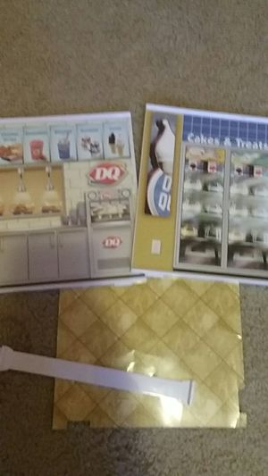 Dairy Queen playset restaurant parts for Sale for sale  Durham, NC