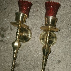 candle holder metal for Sale in Houston, TX