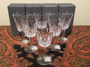 Waterford Crystal 10 oz Goblets - New!! for Sale in Austin, TX
