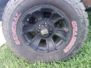 XD series monster rims an tires for Sale in Seffner, FL