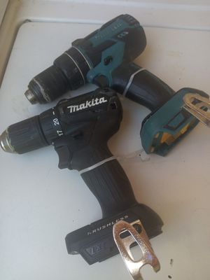 2 Brushless Makita drills bare tools for Sale in North Las Vegas, NV