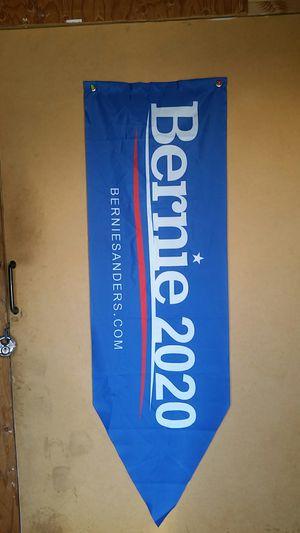 New BERNE SANDERS banner/flag (4 feet long) for Sale in Anaheim, CA