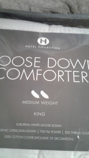 european goose down comforter for Sale in Portland, OR