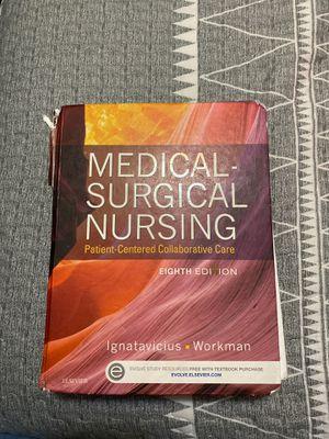 Medical surgical nursing 8edition for Sale in North Las Vegas, NV