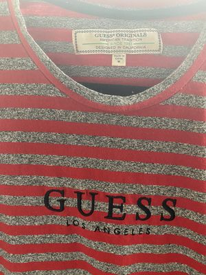 Guess shirt Stripes, vans shirt for Sale in La Habra Heights, CA