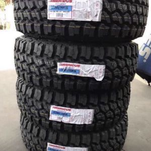 "17"" Americus Rugged M/T Tires LT 285/70R17 ....$159 Each New Mud Terrain Tires We Finance Everyone No Credit Check Needed All Sizes Available Whole for Sale in La Habra, CA"