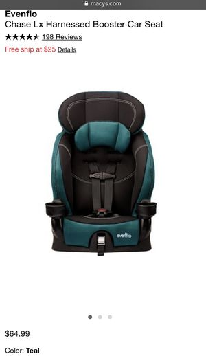 Evenflo Chase LX Harnessed Booster Car Seat ✨ for Sale in Phoenix, AZ