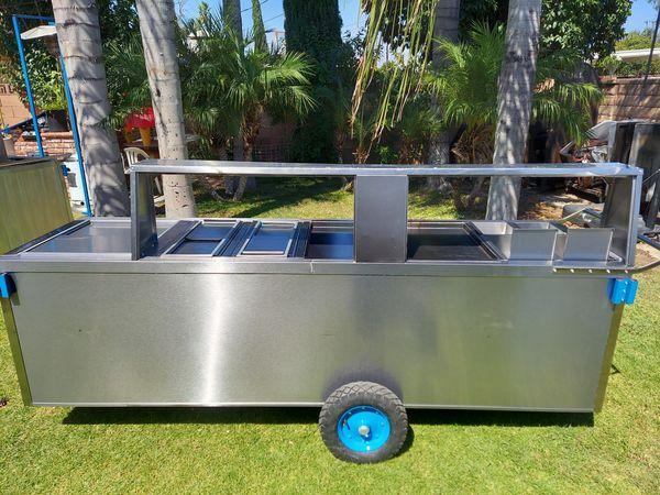 Carritos de hot dogs y hamburgesa, hot dog cart & hamburgers cart