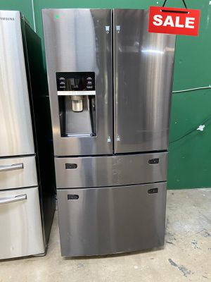 Samsung Refrigerator Fridge With Icemaker AVAILABLE NOW! #1540 for Sale in San Antonio, TX