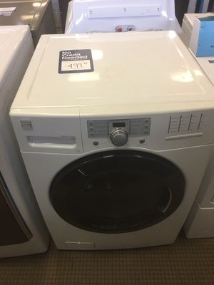 Kenmore white front for Sale in Houston, TX
