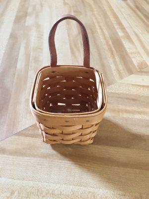 Longaberger basket petite for Sale in Spring Hill, FL