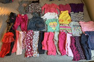 Baby girl clothes sizes 18 month for Sale in Oak Grove, OR