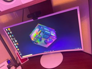 Samsung Curved 1920x1080 VGA Monitor for Sale in Anaheim, CA