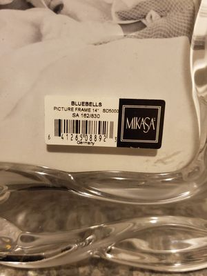 Mikasa crystal frame for Sale in Puyallup, WA