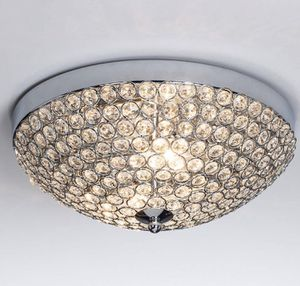 Elegant 2 Lights Crystal Shade Chrome Bedroom Living Room Hallway Modern Lamp Light Fixture Ceiling for Sale in Toledo, OH
