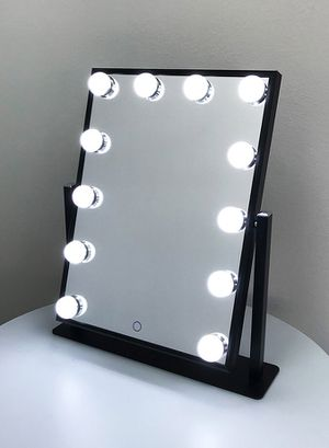 "Brand new $70 each Vanity Mirror 12 Dimmable Light Bulbs Hollywood Beauty Makeup, 16""x12"" for Sale in Downey, CA"