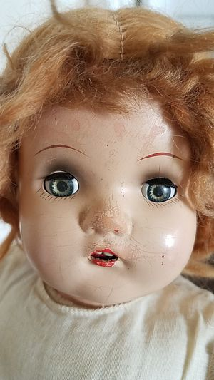 17 in antique doll for Sale in Portland, OR