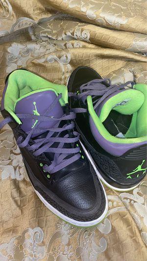 "Jordan retro 3 ""Joker"" for Sale in Sharon Hill, PA"