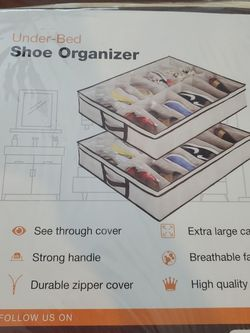 Under Bed Shoe Organizer- NEVER USED for Sale in Santa Monica,  CA
