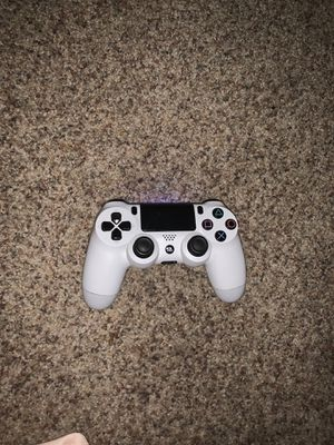 White Ps4 Controller for Sale in MI, US
