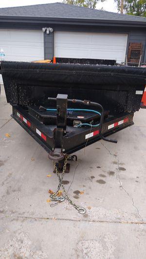 16-ft dump trailer good condition for Sale in Denver, CO