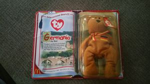 TY Beanie GERMANIA THE BEAR. Still in original packaging. for Sale in Modesto, CA