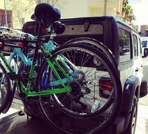 Jeep Spare Tire Bike Rack for Sale in Las Vegas, NV