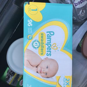 Pampers Size1 for Sale in Los Angeles, CA