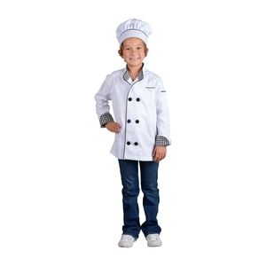Aeromax jr chef child costume jacket and hat small or large for Sale in Artesia, CA