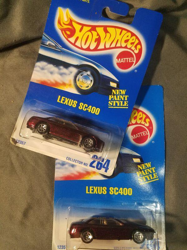 Hot Wheels Lexus SC400