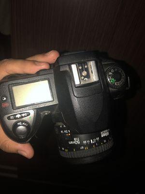 Nikon d70 camera and lens for Sale in Fullerton, CA