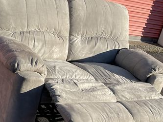Microfiber Loveseat Recliner Couch for Sale in Bensalem,  PA