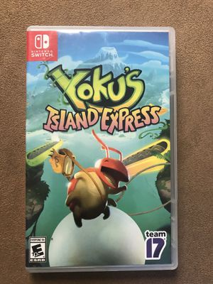 Nintendo Switch Game- Yokus Island Express for Sale in Corona, CA