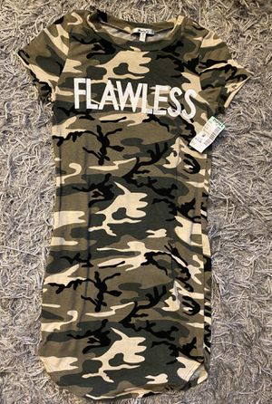 Camo Long shirt/dress Flawless for Sale in San Diego, CA