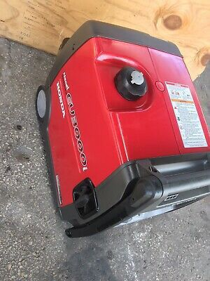 Honda EU3000i Handi Portable Inverter Generator 120V 3000 Watt- EUC for Sale in Alpharetta, GA