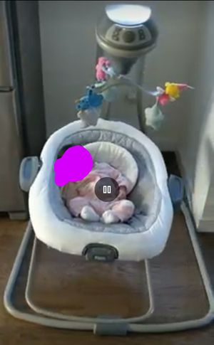 Graco DuetConnect LX Swing and Bouncer for Sale in Seattle, WA