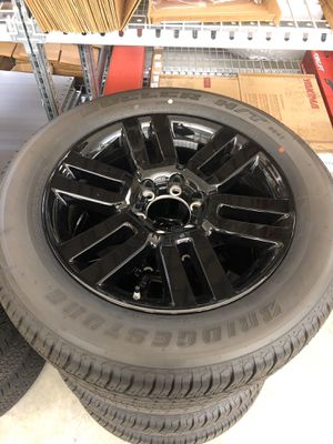 SET OF ALL BLACK 4RUNNER LIMITED RIMS AND TIRES for Sale in Bremerton, WA
