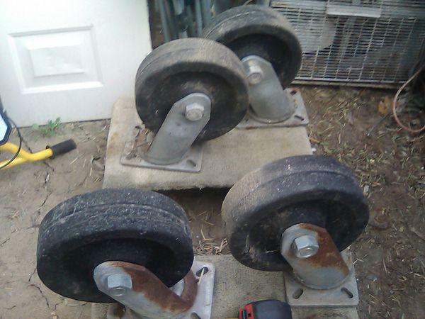 """10"""" Super Heavy Duty wheel casters"""