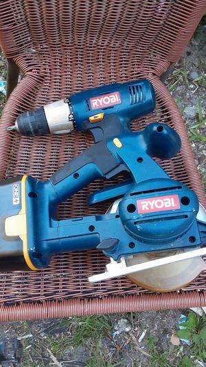 RYOBI 18v Circle Saw & Drill for Sale in Coral Springs, FL