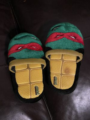 Ninja turtles slippers size small 11-12 delivery for Sale in Los Angeles, CA