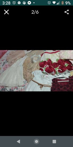 Difrent size girl clothing all for 50$ for Sale in Dallas, TX