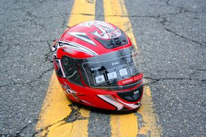 Custom full face motorcycle helmet for Sale in Fairfax, VA
