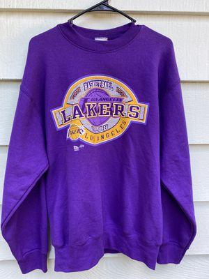 Men's Vintage Pro Player LA Lakers Crewneck for Sale in Everett, WA