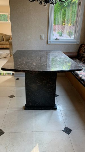 Granite table for Sale in West Bloomfield Township, MI